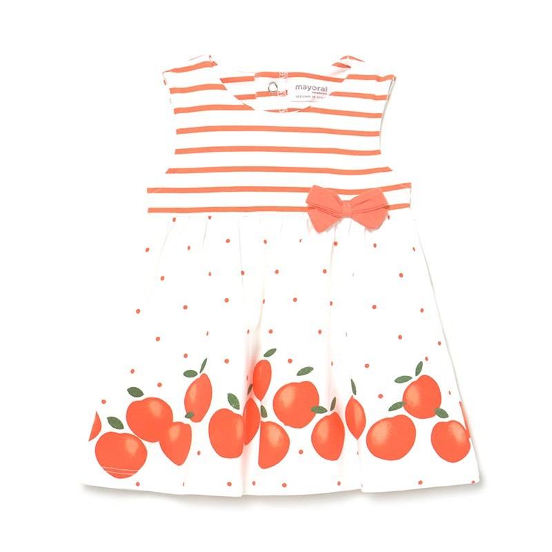 Vestido Estampado Bebé Niña MAYORAL SORBETE