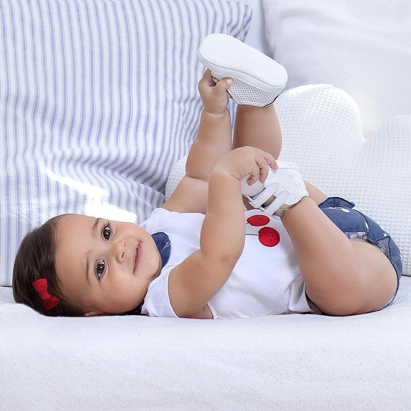 Conjunto Short para recién nacida niña MAYORAL Color Indigo