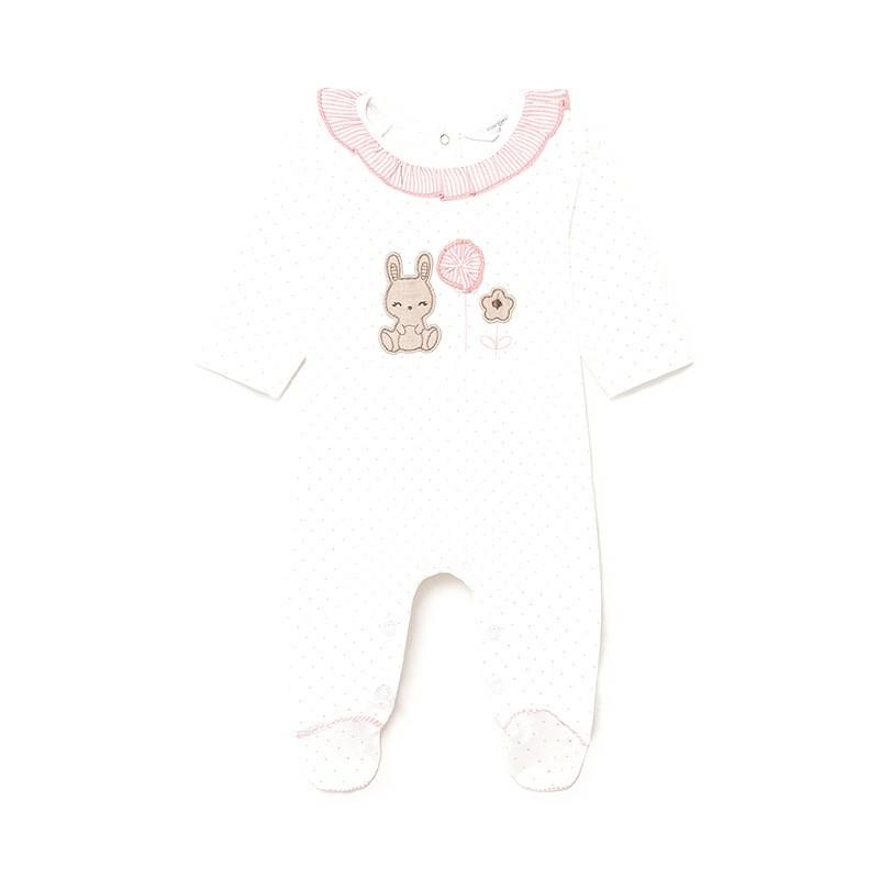 Pijama Punto Lunares recién nacida niña MAYORAL Color Candy