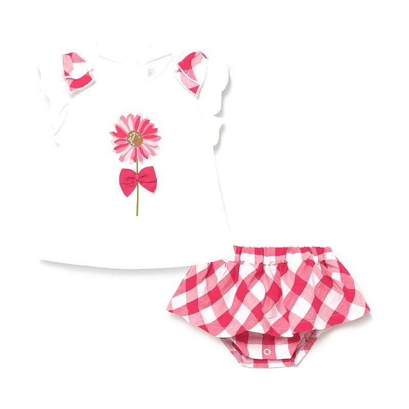 Conjunto Falda para Bebé Niña MAYORAL Color FRAGOLA