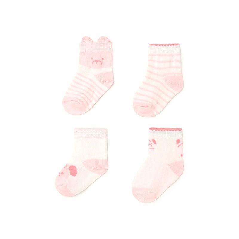 Set 4 Calcetines Bebé Niña MAYORAL Color ROSA