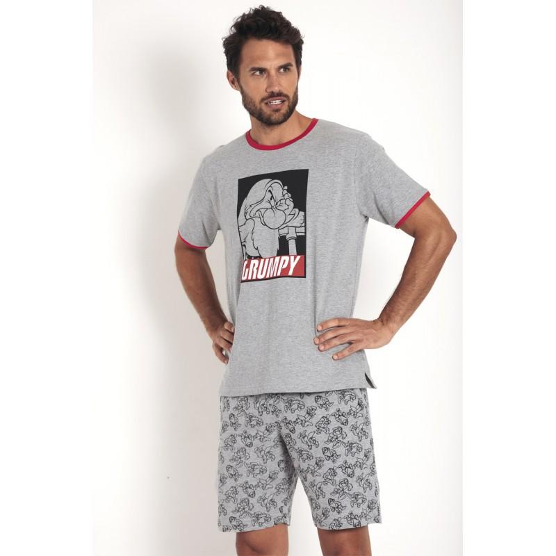 Pijama Verano Hombre DISNEY GRUMPY Color Gris