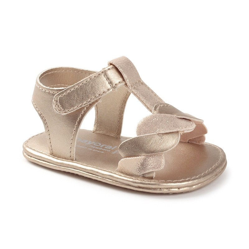 Sandalias Combinadas Bebé Niña MAYORAL Color AVENA