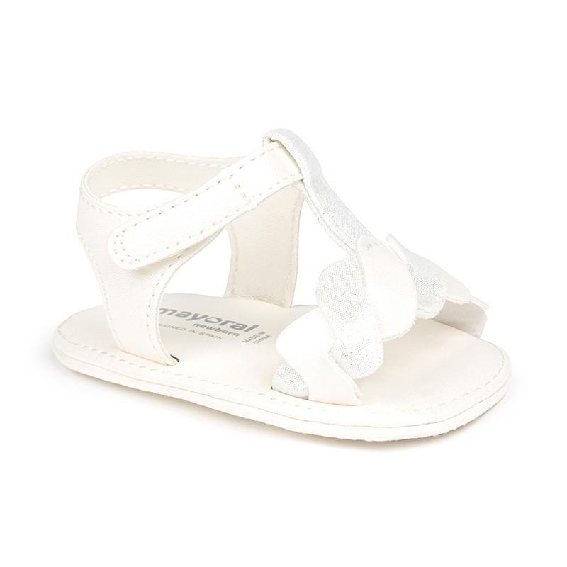 Sandalias Combinadas Bebé Niña MAYORAL Color BLANCO