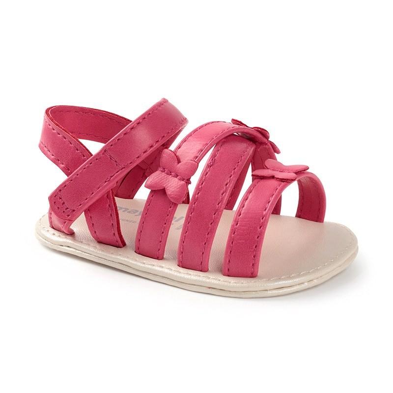 Sandalias Mariposas para Bebé Niña MAYORAL Color FRAGOLA