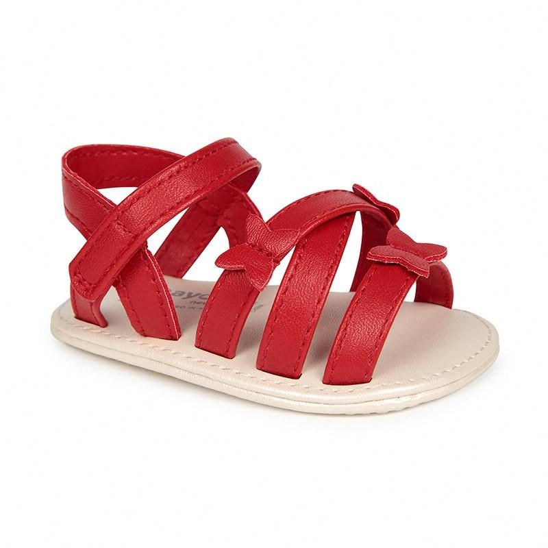 Sandalias Mariposas para Bebé Niña MAYORAL Color ROJO