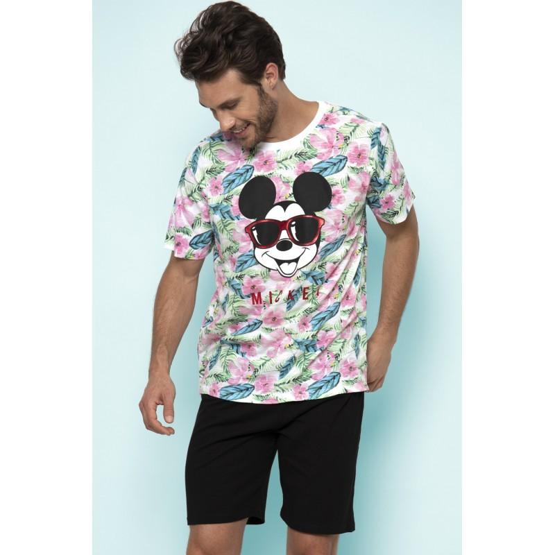 Pijama Hombre Verano DISNEY Mickey Mouse Multicolor