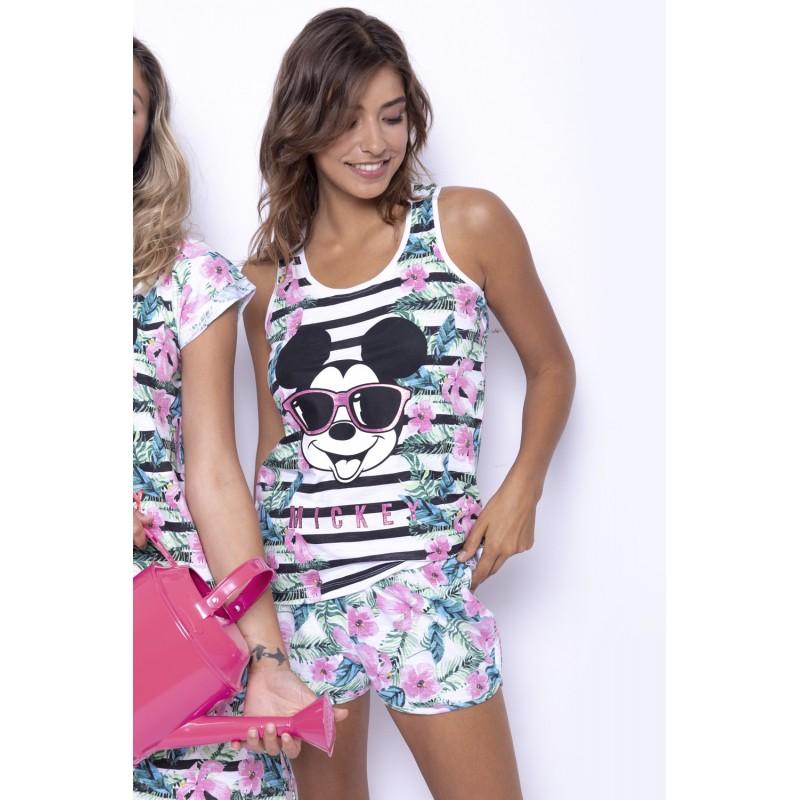 Pijama Verano Mujer DISNEY Mickey Mouse Multicolor