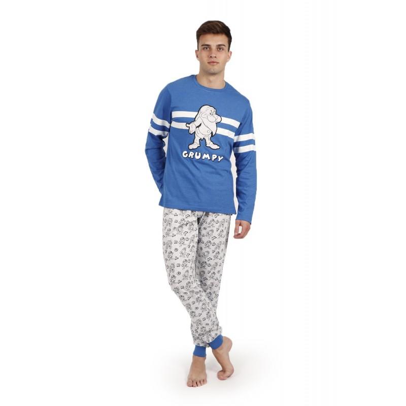 Pijama Hombre Invierno DISNEY Gruñón Color Azul