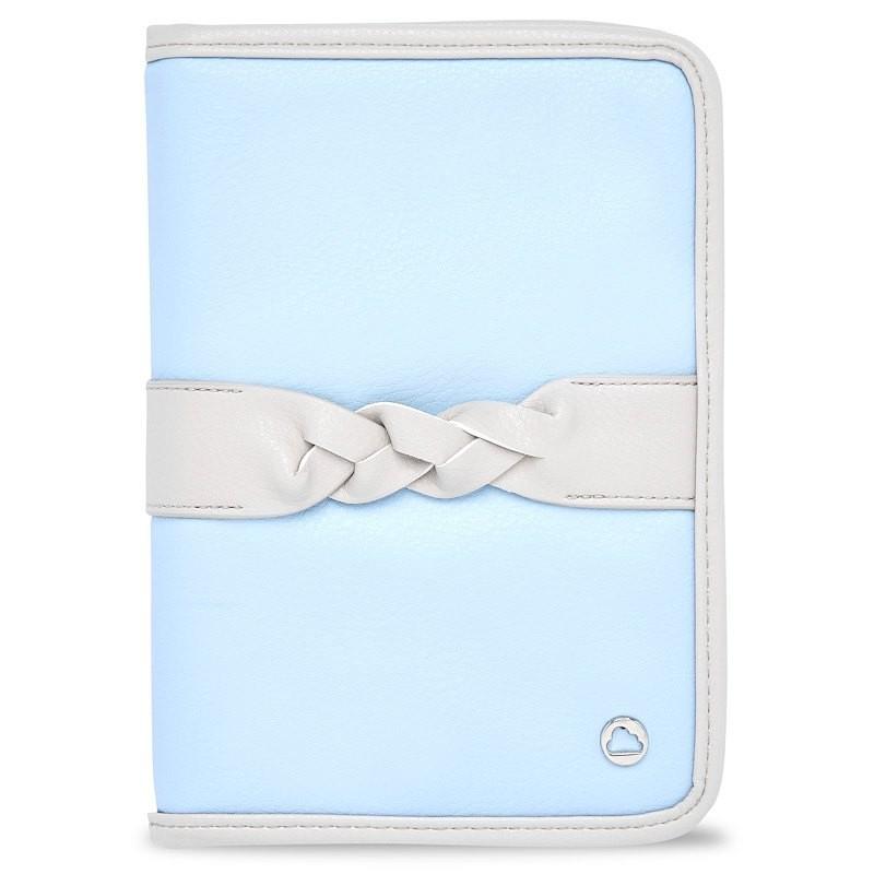 Portadocumentos Trenza para Bebé MAYORAL Color Azul