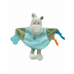 Dou Dou Mordedor Hipopótamo Bebé color AZUL