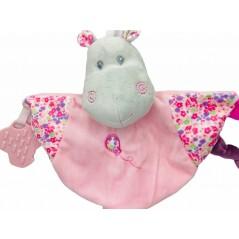 Dou Dou Mordedor Hipopótamo Bebé color ROSA