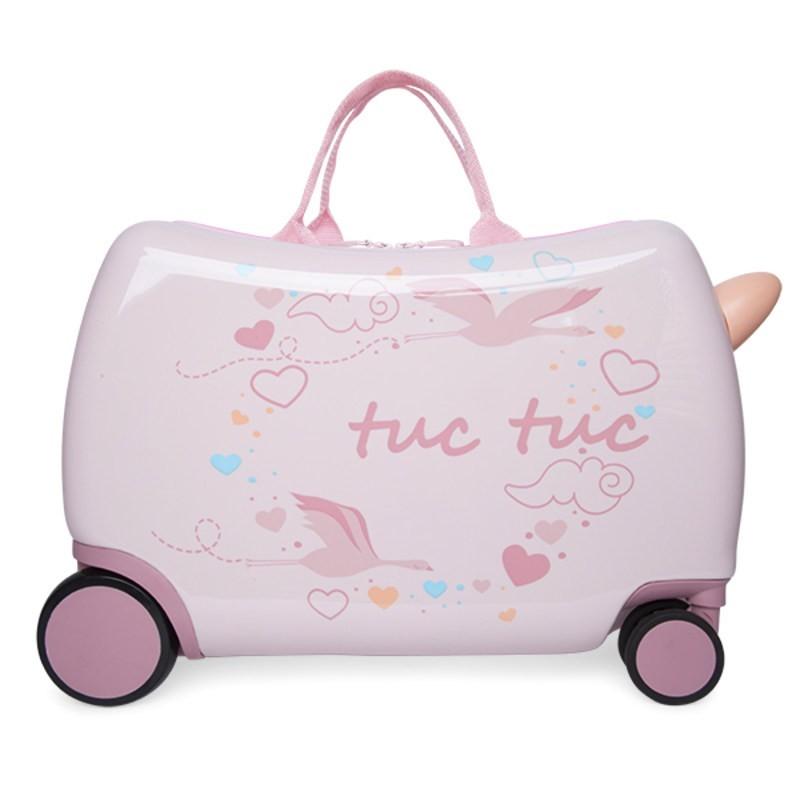 Maleta Trolley de Viaje para Niña TUC TUC Color Rosa