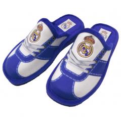 Zapatillas REAL MADRID Oficiales andar en casa estampado CORDONES