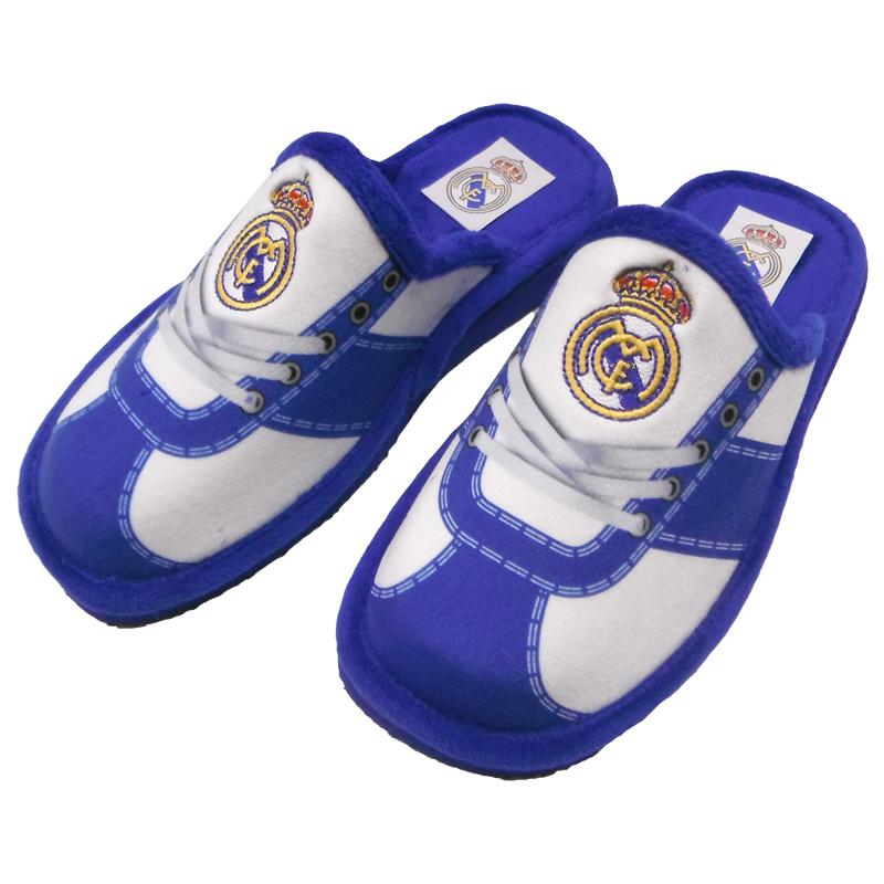 Zapatillas REAL MADRID Oficiales andar en casa CORDONES