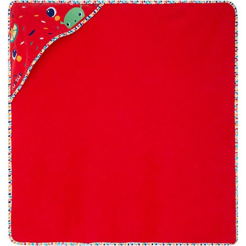 Capa de Baño Bebé Recién Nacido TUC TUC Color Rojo