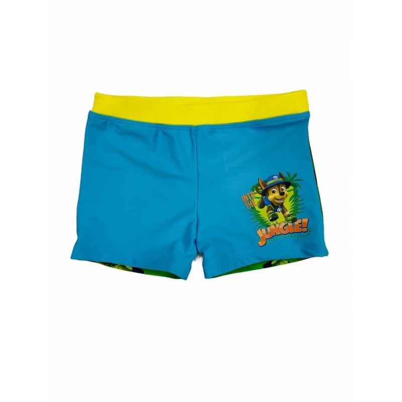 Bañador Boxer Niño PATRULLA CANINA Color Turquesa