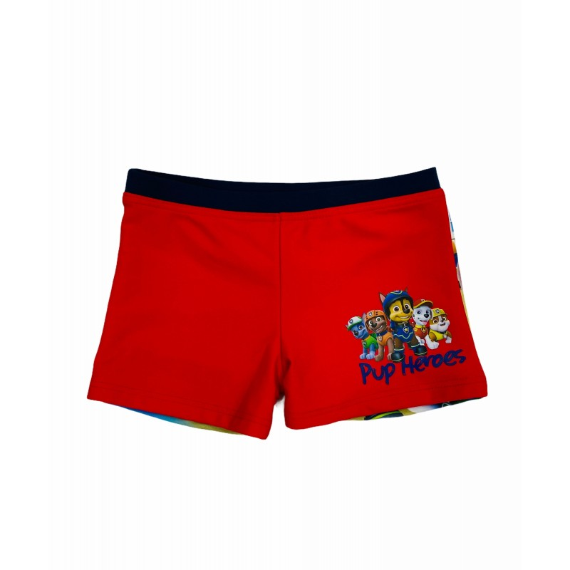 Bañador Boxer Niño PATRULLA CANINA Color ROJO