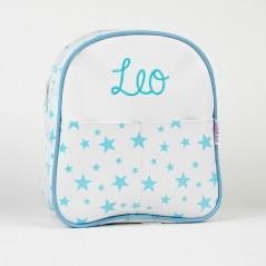 Mochila Estrellas Azul Personalizada