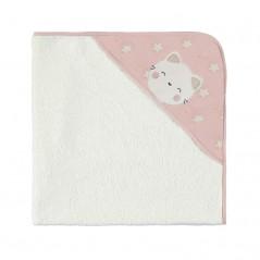 Toalla Capa de Baño Animalitos Bebé MAYORAL Dusty Pink