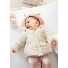 Chaquetón Reversible Pelo Niña Bebé MAYORAL