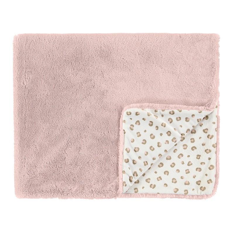 Manta Pelo para Recién Nacida MAYORAL Color Dusty Pink