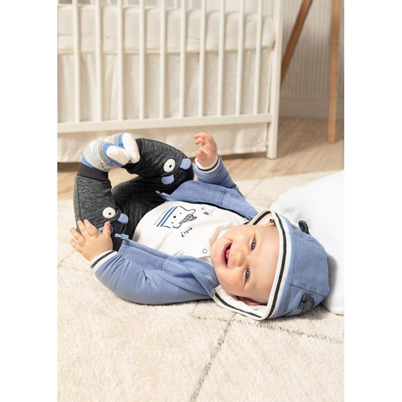 Chándal 3 Piezas Recién Nacido MAYORAL Color Azul