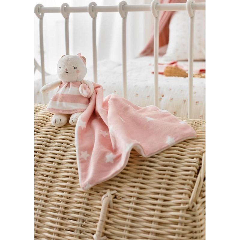 Gugú Osito Muñeco Bebé MAYORAL Color Rosa