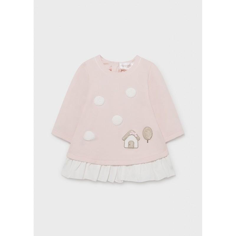 Vestido ECOFRIENDS Bebé Recién Nacida MAYORAL Color Rosa