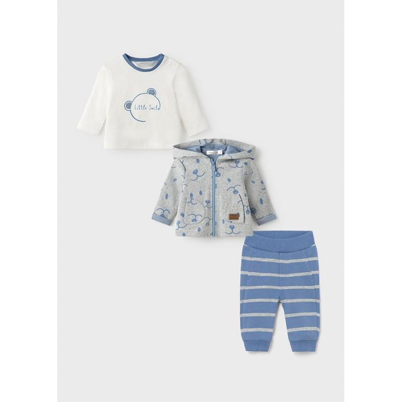 Chándal 3 Piezas Bebé MAYORAL Color Blue