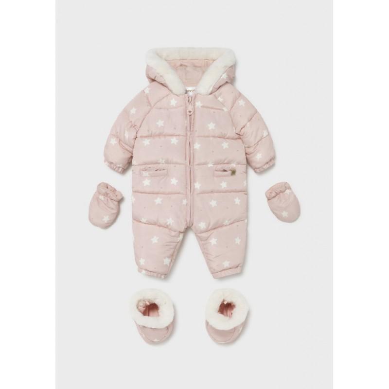 Buzo Estampado Bebé Recién Nacido MAYORAL Color Rosa