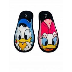Zapatillas de Casa Disney Pato Donald y Daisy