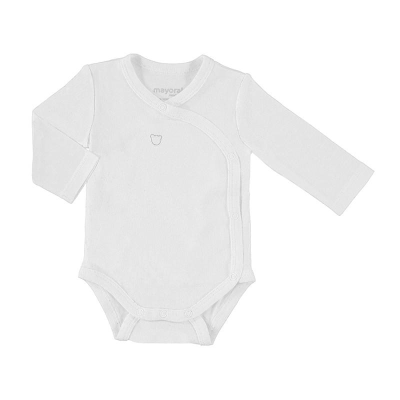 Body Manga Larga Bebé Recién Nacida MAYORAL Color Blanco