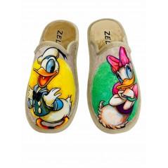 Zapatillas de Casa DISNEY Pato Donald Color Beige