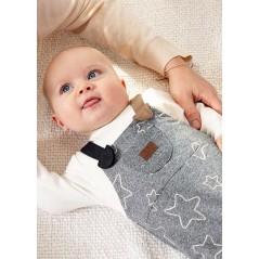Pelele Peto Acolchado Bebé Recién Nacido MAYORAL Color Gris
