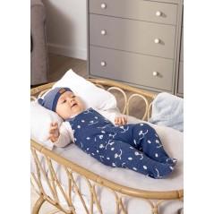 Pelele + Gorro Invierno Bebé Recién Nacido MAYORAL Color Indigo