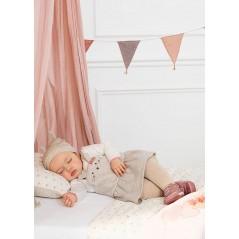 Pelele Falda Peto Bebé Recién Nacida MAYORAL Color Piedra