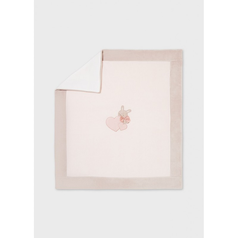 Manta Suave para Recién Nacido MAYORAL Color Rosa