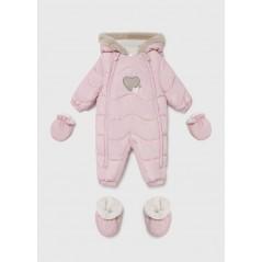 Buzo MAYORAL Ecofriends Bebé Recién Nacido Color Rosa