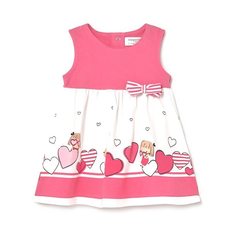 Vestido Estampado Bebé Niña MAYORAL Mermelada