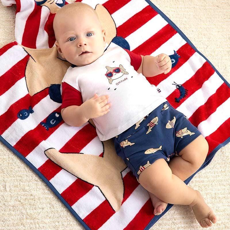 Conjunto Estampado para Bebé Recién Nacido MAYORAL Color TOMATE